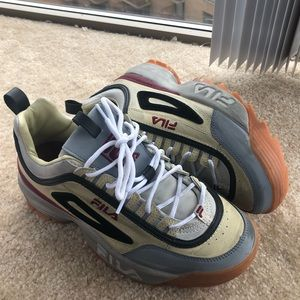 FILA UO Exclusive Distressed Disrupter 2 Sneaker